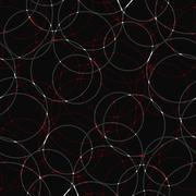Seamless abstract geometric decorative background - stock illustration