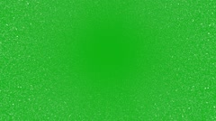 Snow top view green screen. Stock Footage