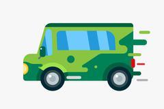 Cartoon car icon Stock Illustration