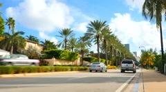 Luxury Florida homes Stock Footage