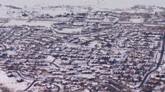 View of ski resorts Stock Footage