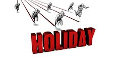 Better Holiday - stock illustration