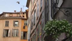 Street corner in the Provence (Grasse) Stock Footage