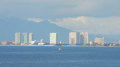 View of Puerto Vallarta cityscape - stock footage