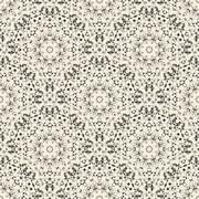 Ornamental Seamless Pattern. Abstract Geometrical Vector Background - stock illustration
