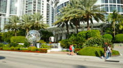 Trump Towers Sunny Isles Beach Stock Footage