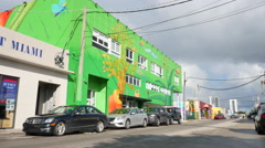 Video of Wynwood Miami Stock Footage