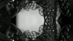 Background black & white - stock footage