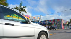 Wynwood Spray paint video Stock Footage