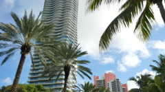 Regalia penthouse condominium Stock Footage