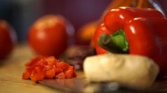 Vegan food Stock Footage