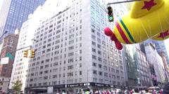 Hello Kitty Balloon in 89th Macys Parade 4k Stock Footage