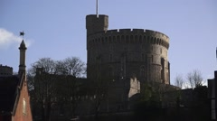 Windsor Castle England Stock Footage