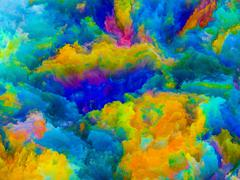 Source of Colors - stock illustration