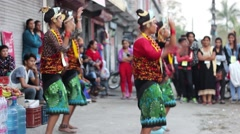 Nepalese folk dance. Arkistovideo