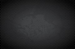 Dark metal background Stock Illustration