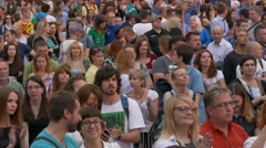 Ungraded: Crowd at Concert Stock Footage