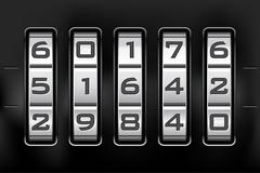 Combination lock - number code Piirros