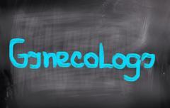 Gynecology Concept - stock illustration