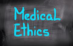 Medical Ethics Concept Stock Illustration