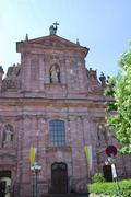 Jesuit Church (Jesuitenkirche) in Heidelberg - stock photo