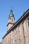 Church of the Holy Spirit in Heidelberg - stock photo