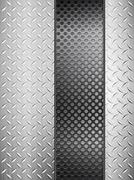 Diamond metal background and grid vertical Stock Illustration