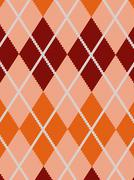 Stock Illustration of realistic argyle cloth