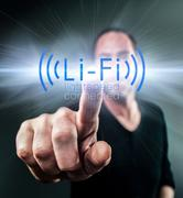 Li-Fi High Speed Wireless connection - stock photo