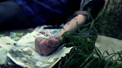Heroin Addicted - stock footage