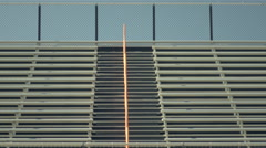 Empty Bleachers on Sunny Day - stock footage