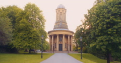 Saltaire URC Church Wide Stock Footage