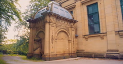 Sir Titus Salt Crypt in Saltaire Stock Footage