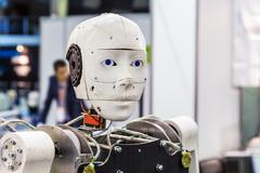"International Exhibition of Robotics and advanced technologies ""Robotics Expo - stock photo"