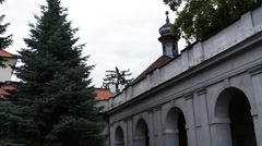 Church of St. Anthony of Padua in Warsaw Stock Footage