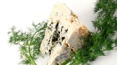 Gorgonzola cheese Stock Footage