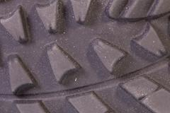 The sole with tread - stock photo