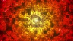 Twinkling Hi-Tech Squared Diamond Light Patterns 01 Stock Footage