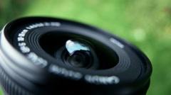 Camera Lens Closeup - stock footage