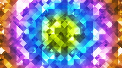 Twinkling Hi-Tech Diamond Light Patterns, Multi Color, Abstract, Loopable, HD Stock Footage