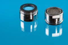 Stock Photo of Faucet Aerators