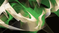 Abstract background in green,brown and grey colors Stock Footage