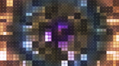 Twinkling Hi-Tech Cubic Diamond Light Patterns 03 - stock footage