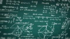 Formula - Blueprint - Numbers 02 Stock Footage
