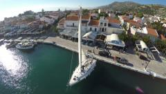 Port of Pythagorio in Samos Island (4) Stock Footage