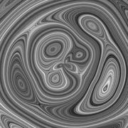 Greyscale illustration with imitation of wood radial texture Stock Illustration