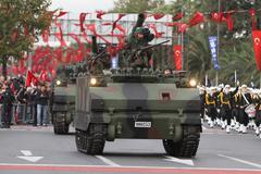 29 October Republic Day celebration of Turkey - stock photo