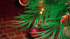 Christmas Tree background - stock footage