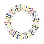 Stock Illustration of Abstract colorful circle.Vector design element