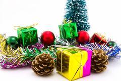 Christmas presents - stock photo